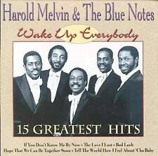 HAROLD MELVIN & THE BLUE NOTES - WAKE UP EVERYBODY: 15 GREATEST HITS (NEW CD)