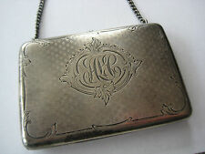 ANTIQUE VICTORIAN STERLING CHANGE PURSE