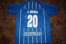 AMADO GUEVARA SIGNED HONDURAS REPLICA SOCCER JERSEY