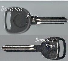 Replacement Transponder Key Blank Fits 2012 2013 Cadillac CTS GMC Passenger *
