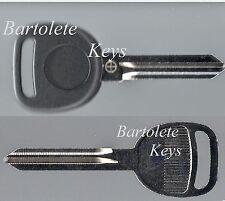 Replacement Key Blank Fits 2008 2009 2010 2011 Cadillac CTS CTSV GMC Passenger *