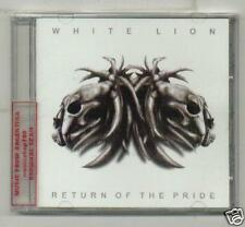 WHITE LION RETURN OF THE PRIDE +BONUS TRACK NEW CD 2008