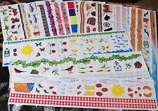 Creative Memories Misc. Great Lengths Sticker Strips~U Choose ~Summer~Fall~Water