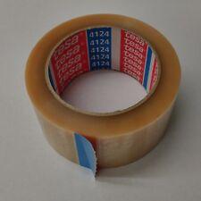 (0,08€/m) 3 TESA 4124 Klebeband 50mm PVC-Packband transparent