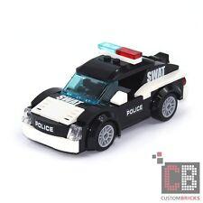LEGO Bau- & Konstruktionsspielzeug Lego Stein 2x2 schräg bedruckt 3039px44 Polizei schwarz ebed20