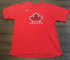 Nike Mens Size Large 2010 Team Canada Martin Brodeur Olympic Hockey T-Shirt