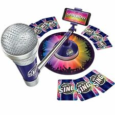 Spin to Sing Game - Singing Competition Game For All The Family New Sealed