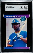 1989 Donruss Ken Griffey Jr #33 RC SGC 8.5 HOF