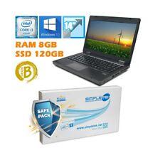 """Notebook Tragbar HP Probook 6470B I3 3110M 14 """" 8GB 120GB SSD Batt Neu"""