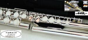 YAMA. 212 Flauto Traverso Flauti   Flauta Flauti TESTATA IN GERMAN SILVER