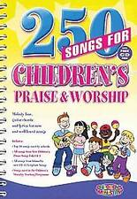 Good, 250 Songs for Childrens Praise & Worship [With CDROM], Children's Ministry