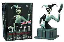NYCC 2015 BATMAN ANIMATED: LIMITED EDITION HARLEY QUINN B&W BUST, BNIB