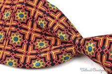 Federigo von Italo Ferretti bunt verziert 100% Seide Luxuriös Herren Krawatte -