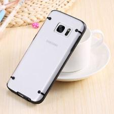 Fundas y carcasas bumperes transparente de color principal negro para teléfonos móviles y PDAs