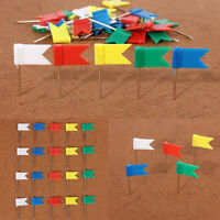 100stk Pinnadeln Push Pins Pinnwand-Nadeln Nadeln bunt-farbig O2Y2