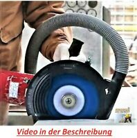 Winkelschleifer Absaughaube Staubabsaugung AirDuster 230+Adapter MECHANIC