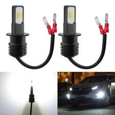 KATUR 2400LM H3 CSP LED Fog Light Bulbs Car Lamp Replacement Kit White 12V-24V