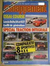 ECHAPPEMENT n°215: 09/1986 : LANCIA DELTA S4 & 037 - TALBOT LOTUS - MOUTON MICHE