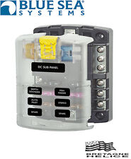 PAINTING ATO FUSE 6 CIRCUITS WITH BUS NEGATIVE BLUE SEA 5025
