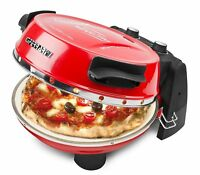 Ferrari G10032 Four pour Pizza 400°C , Rouge, Pierre, aussi Oven Pâtisserie