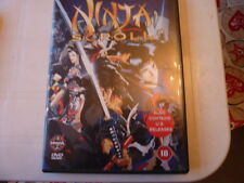 Ninja Scroll (Also contains U.S. releases, DVD 2000) RARE