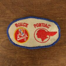 Rare VINTAGE 50's 60's BUICK PONTIAC JACKET PATCH