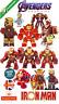 Iron Man Avengers Marvel Mini Figure Tony Stark Gauntlet End Game UK Seller