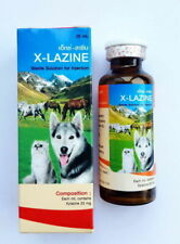Xylazine 20 mg solution for dogs cats expiry date 06/2023 25 ml
