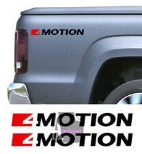 Set de 4 X Stickers AUTOCOLLANT pour Volkswagen AMAROK 4 MOTION - FA156