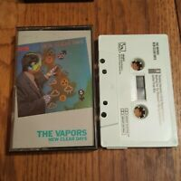 THE VAPORS NEW CLEAR DAYS CASSETTE TAPE LIBERTY RECORDS 1980 - RARE