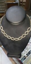 silver bead necklace 109258 16 inch 10 mm sterling