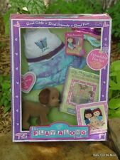 New In Box ~ Play Along Club Friendship Fun Set ~ Outfit with Pet ~ Retired