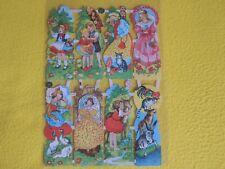 1x Poesiebilder Oblaten 114 Märchen nostalgie Glanzbilder Verschiedene Bremer St