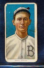 "1909-11 T206: Dave Brain ""Buffalo"" Piedmont 350 PR"