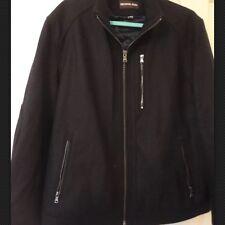BNWT RRP £395 MICHAEL KORS MENS  LARGE BLACK  WOOL COAT JACKET