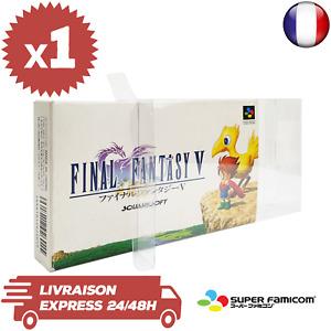 1 Boitier Protection Crystal Box Jeux Nintendo Super Famicom JAP 0,3 mm Neuf