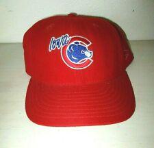IOWA CUBS NEW ERA 59/50 MiLB Minor League RED WOOL BASEBALL CAP HAT Fitted 7 5/8