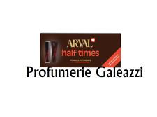 ARVAL HALF TIMES FORMULA POTENZIATA ABBRONZATE RAPIDO 5x10 ml + FISSANTE RAPIDO