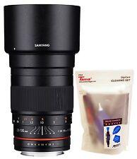 Samyang 135mm F2.0 ED UMC Aspherical Telephoto Full Frame Lens for Nikon AE DSLR