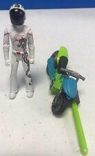 2007 Mattel Hot Wheels Speed Racer Movie - Rockin' Rocketbike Vehicle - W Driver