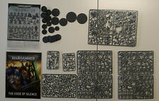 Warhammer 40k Indomitus Necron half w/ instructions and The Edge of Silence