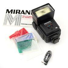 MIRANDA 700 CD BOUNCE / ZOOM FLASH + EXTRAS… Canon/Pentax/Nikon/Sony/Olympus…
