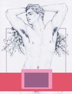 "Adult  Gay Interest ONLY ""Rose Garden"" Original COPY by Mario Bieletto"