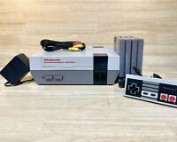 Refurbished NES Console System - Polished 72 Pin Lockout Disabled 4 Random Games