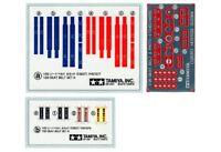 12637 Tamiya 1/20 F1 Seat Belt Set A 1970S/80S 1/20th Accessories Car