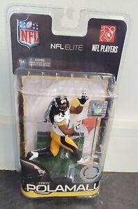 NFL Elite McFarlane Pittsburgh Steelers Troy Polamalu White Jersey- NIB