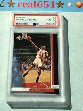 1996 Upper Deck SP #16 MICHAEL JORDAN | PSA 8 NM-MT | Chicago HOF Bulls