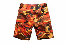 Mens Army Military Cargo Shorts Work Camping Fishing Fashion Casual Camo Shorts