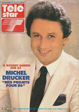 Télé Star N°485 - Michel Drucker - J-P. Hutin - Jj Goldmhttp - Mimi Coutelier