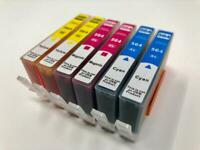 6 Color ink 564XL for HP 5520 6510 6520 7510 C309 C310 C410 Cyan Magenta Yellow